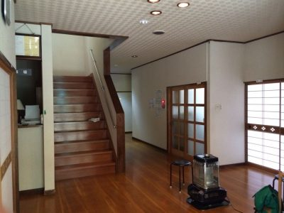 幽谷荘の玄関2