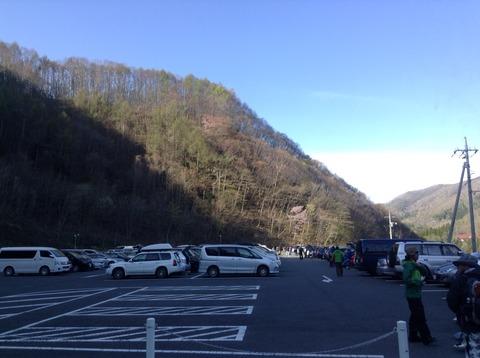 至仏山の駐車場