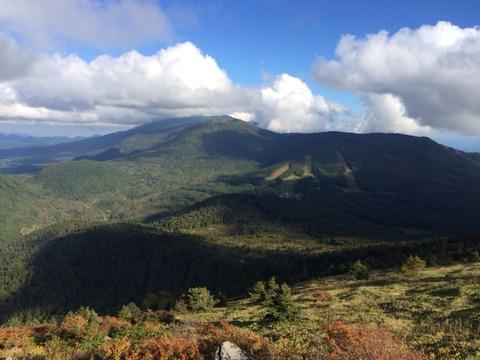 湯の丸山からの景色
