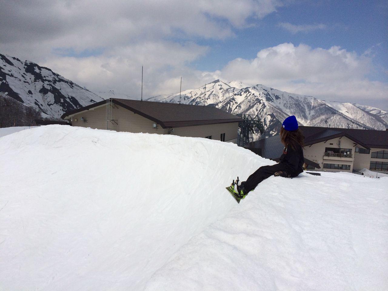 天神平スキー場景色