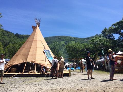 ヤマボクフェスの光景