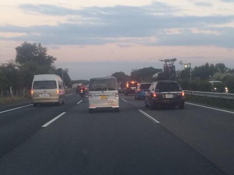 渋滞の関越道