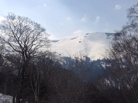 至仏山遠くから