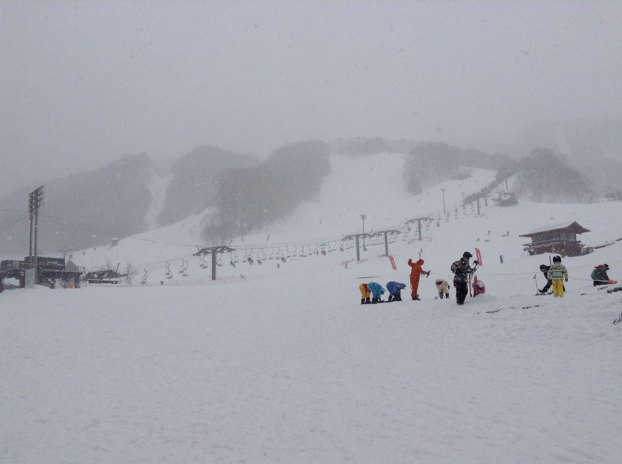 スノーボードあるある。
