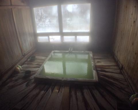 五色温泉内湯