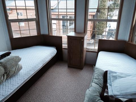 白馬カナディアンロッジ寝室
