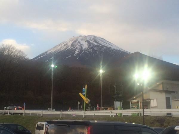 イエティからの富士山